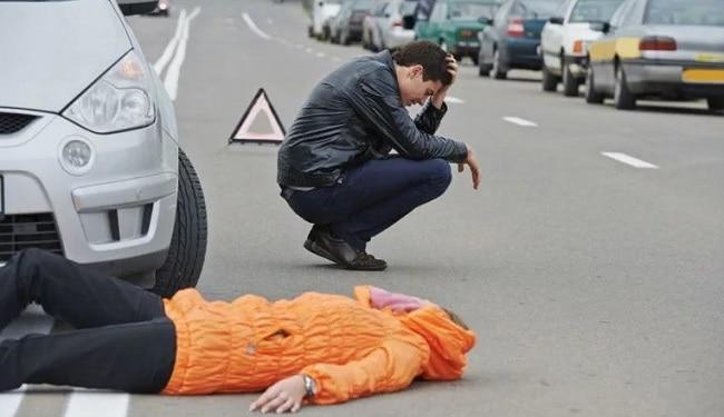 Какая ответственность предусмотрена для водителя если он сбил человека не на пешеходном переходе