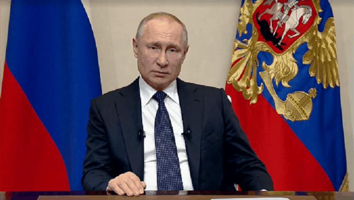 Обращение Путина к Россиянам в связи с коронавирусом